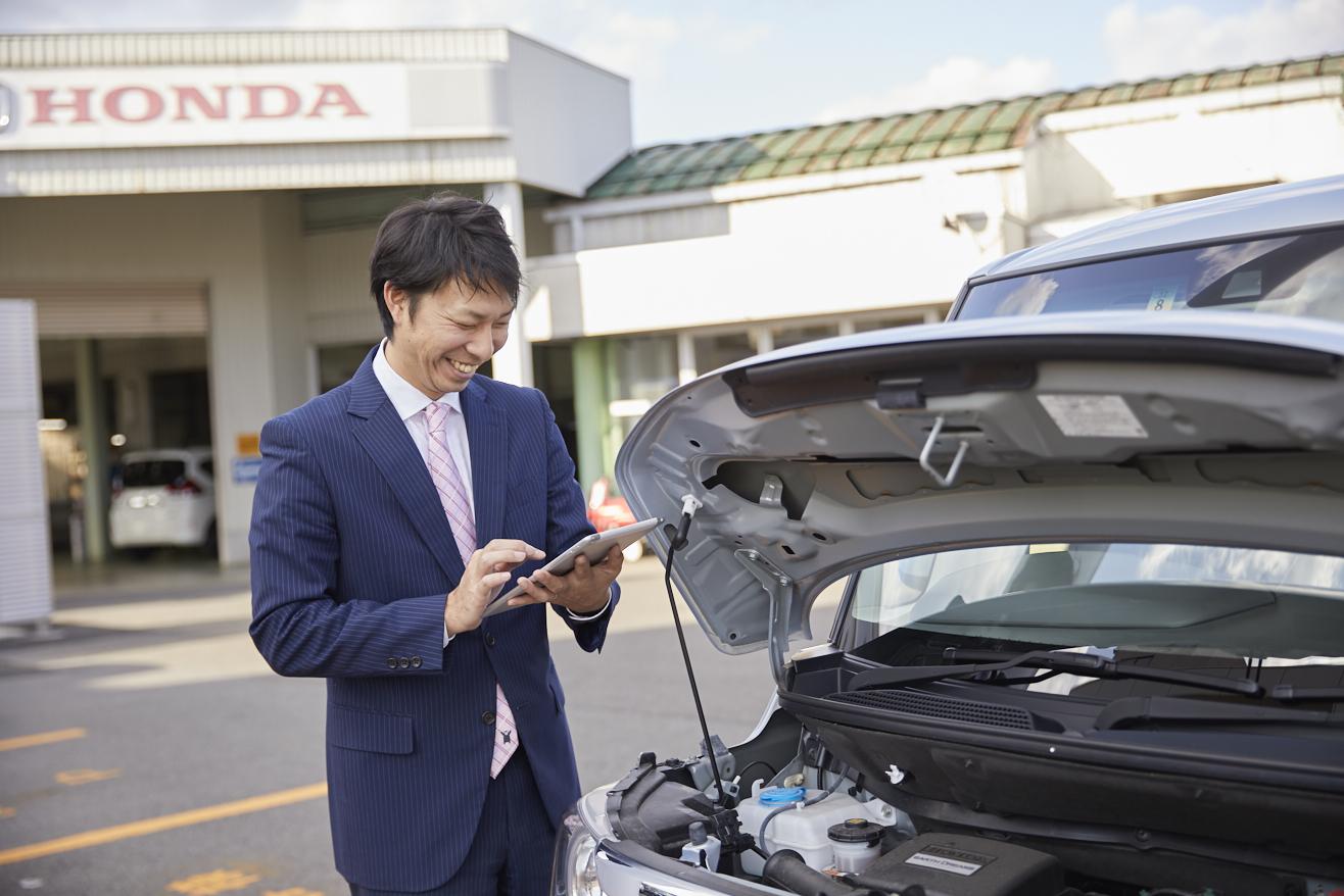 株式会社ホンダベルノ福井2022【営業職】<br>(Honda Cars 福井北 北インター店)